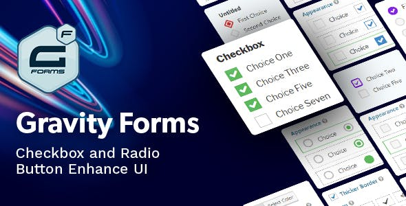 Gravity Forms Checkbox & Radio Button Enhance UI