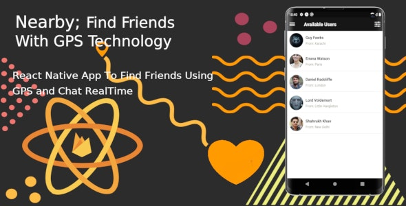App Ideas Using React Native Technology - Find New Friends Ideas
