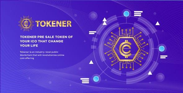 Tokener - ICO for ERC 20 token