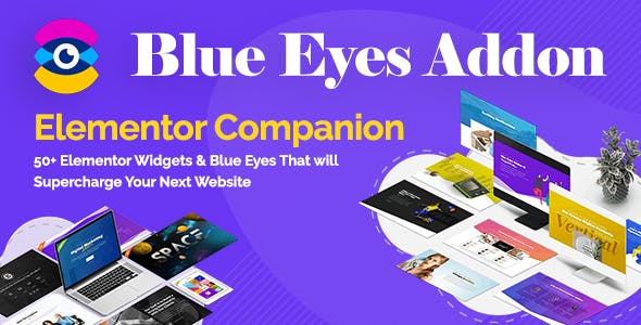 Blue Eyes Addon - Elementor Companion