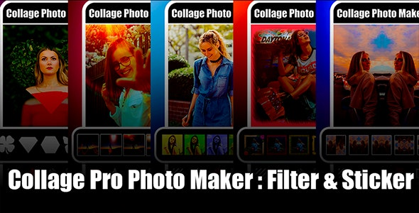 New Photo Collage Editor   Collage Pro Android App   Collage Maker   Admob Ads Full Code - CodeCanyon Item for Sale