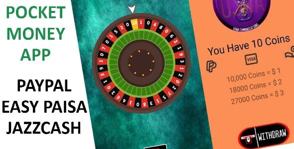 Pocket Money - Earn Real Money - StartApp Ads - CodeCanyon Item for Sale