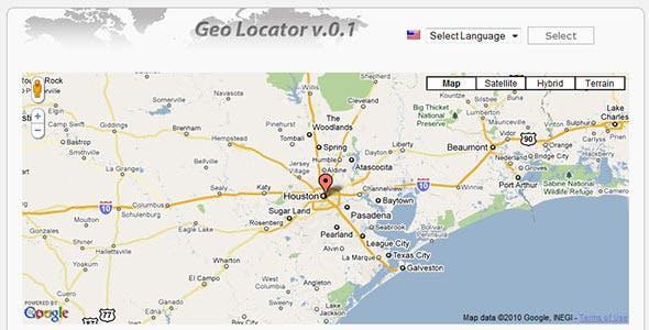Geo Locator v.0.1