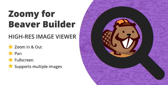Zoomy for Beaver Builder - High-res Zoomable Image Viewer
