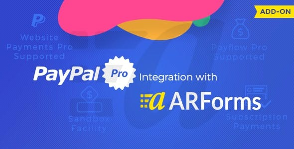 Paypal Pro for Arforms