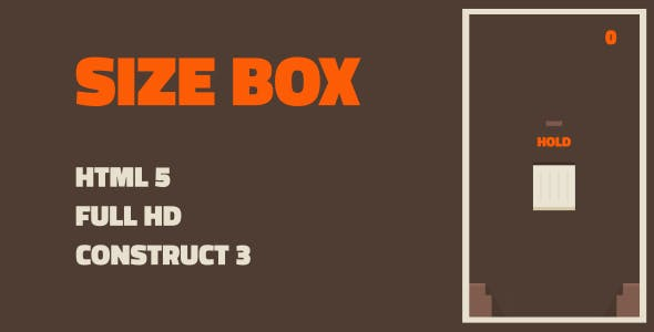 Box Size - HTML5 Game (Construct3)