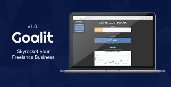 Goalit - Freelance Earnings Management Website