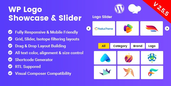 WP Logo Showcase - Responsive WP Plugin - CodeCanyon Item for Sale