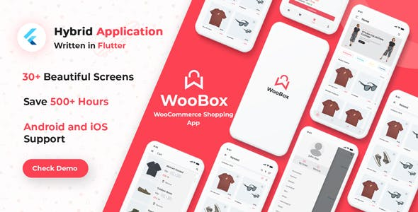 WooBox - Flutter WooCommerce Mobile  App