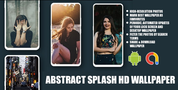 Abstract Splash Hd Wallpaperandroid Full App Code With