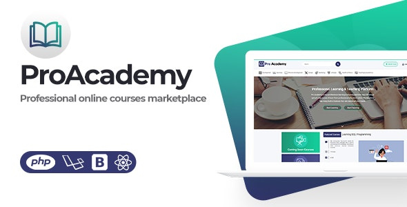 Proacademy- LMS & Online Courses Marketplace - CodeCanyon Item for Sale