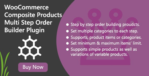 WooCommerce Composite Products - Multi Step Order Builder Plugin