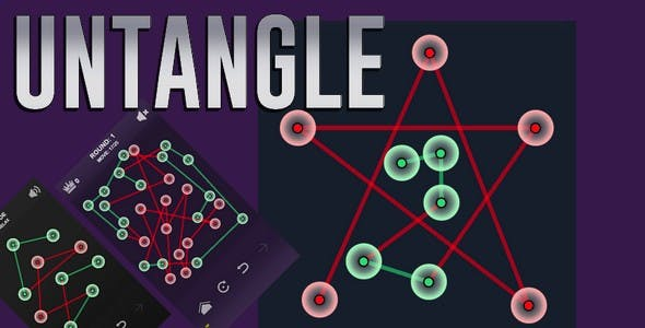 Untangle | HTML5 Game Template (capx)