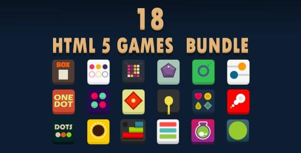 18 GAMES BUNDLE / HTML 5 / CONSTRUCT 3