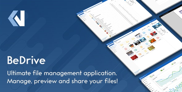 BeDrive v2.2.6 – File Sharing and Cloud Storage