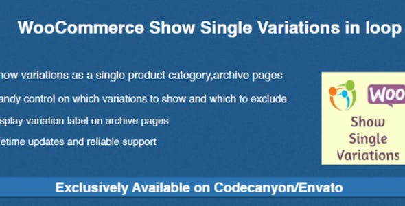 WooCommerce Show Single Variations in loop