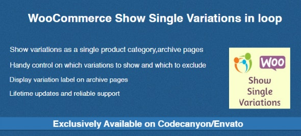 WooCommerce Show Single Variations in loop - CodeCanyon Item for Sale