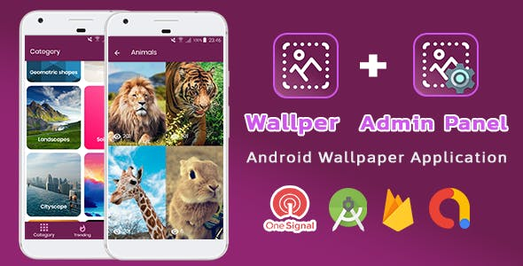 Wallper v1.2.5 - Android Wallpaper Material Design App