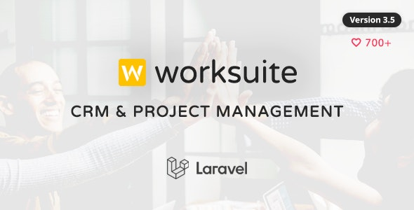 WORKSUITE - CRM and Project Management - CodeCanyon Item for Sale