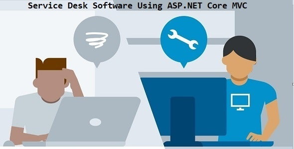 Service Desk Software Using ASP.NET Core MVC - Full Source Code - CodeCanyon Item for Sale