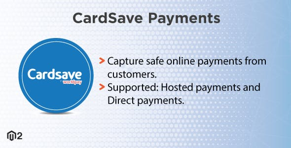 Magento 2 Cardsave Direct Payments