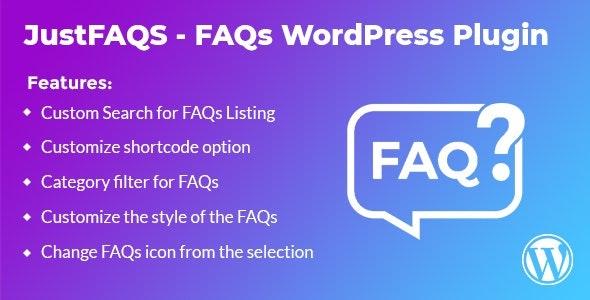 WordPress FAQ Plugin - CodeCanyon Item for Sale