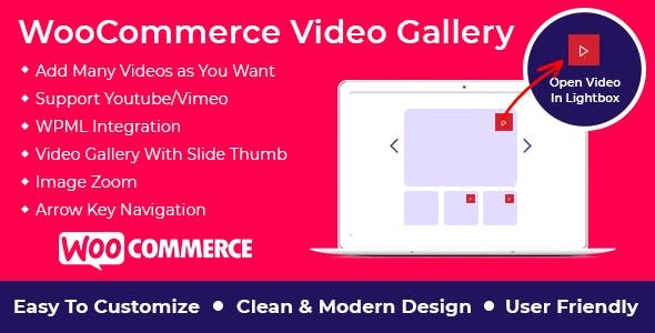 WooCommerce Video Gallery Plugin