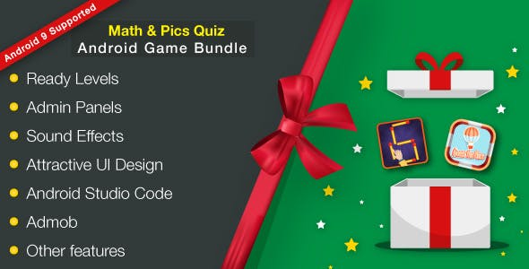 Math & Pics Quiz - Android Games Bundle