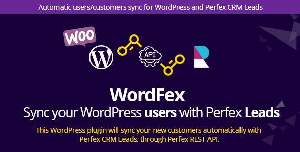 WordFex - Syncronize WordPress with Perfex