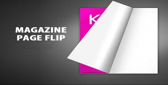 Magazine Page Flip - CodeCanyon Item for Sale