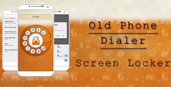 Old Dialor Lock Screen