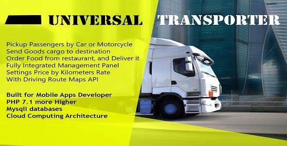 Universal Transporter Apps