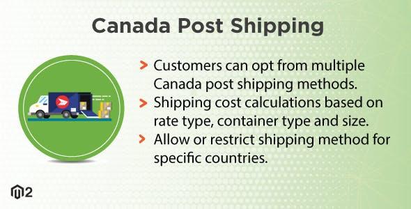 Magento 2 Canada Post Shipping