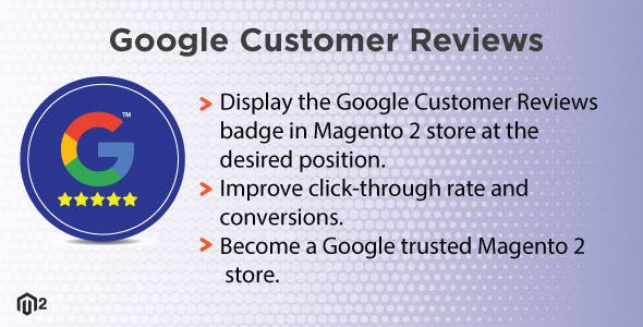 Magento 2 Google Customer Reviews
