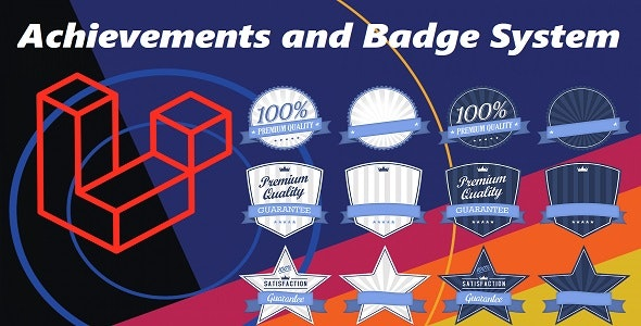 Achievements and Badge System (Laravel, Composer Package) - CodeCanyon Item for Sale