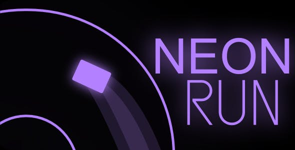Neon Run   Html5 Mobile Game   android & ios