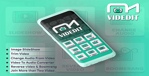 VidEdit - Photo to Video with Music Android App