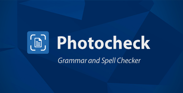 Photocheck: Grammar and Spell Checker