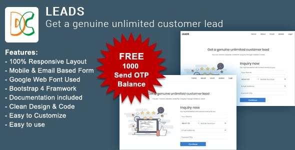 LEADS - Get a Genuine Unlimited Customer Lead