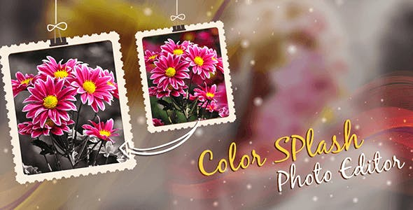 Color Splash Photo Editor - Admob + Facebook Integration