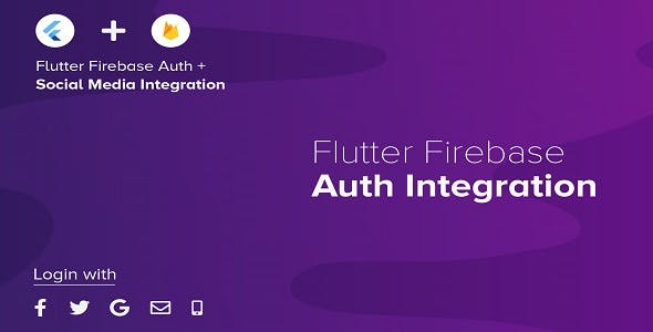 Flutter Firebase Authentication & Social Media Integration