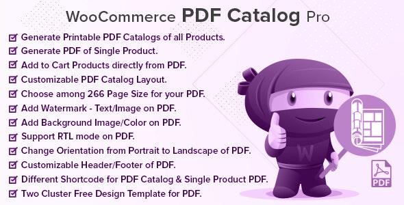WooCommerce PDF Catalog Pro - CodeCanyon Item for Sale