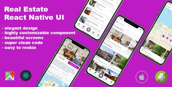 Real Estate React Native UI