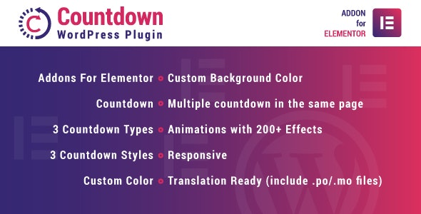 Countdown for Elementor WordPress Plugin - CodeCanyon Item for Sale