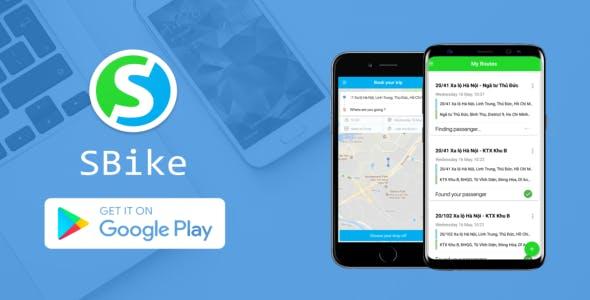 Car Sharing App - Similar Grab (Firebase + GG Maps)
