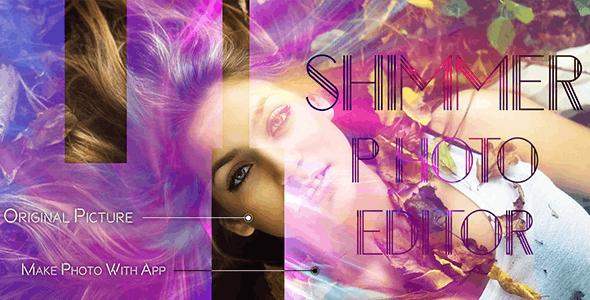 Shimmer Photo Effect - Photo Editor - Image Editor