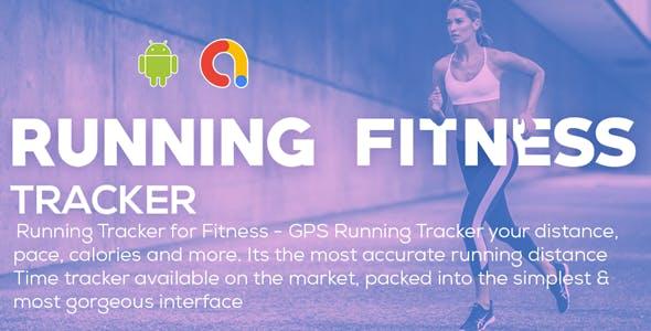 Running Tracker for Fitness - GPS Running Tracker | Running Fitness | Android App | Admob Ads