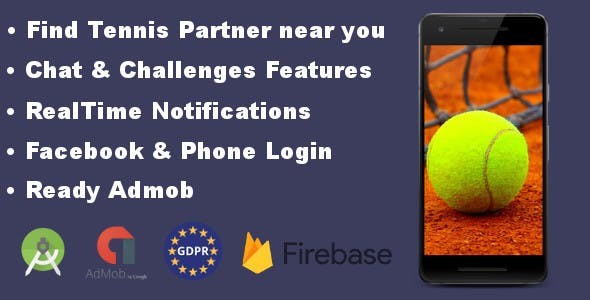 Tennis Partner - Find and challenge tennis players near you