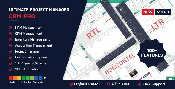 Ultimate Project Manager CRM PRO