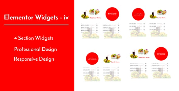 Elementor Widgets - iv - Professional and Unique Section Design Widgets - CodeCanyon Item for Sale